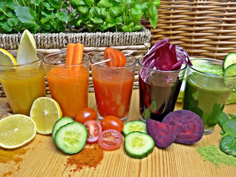 Test méregtelenítésről zöldségekkel